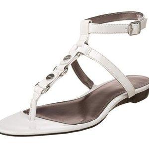 Calvin Klein Nova Sandal White-NEW